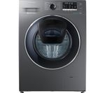 SAMSUNG AddWash WW80K5410UX Washing Machine - Graphite