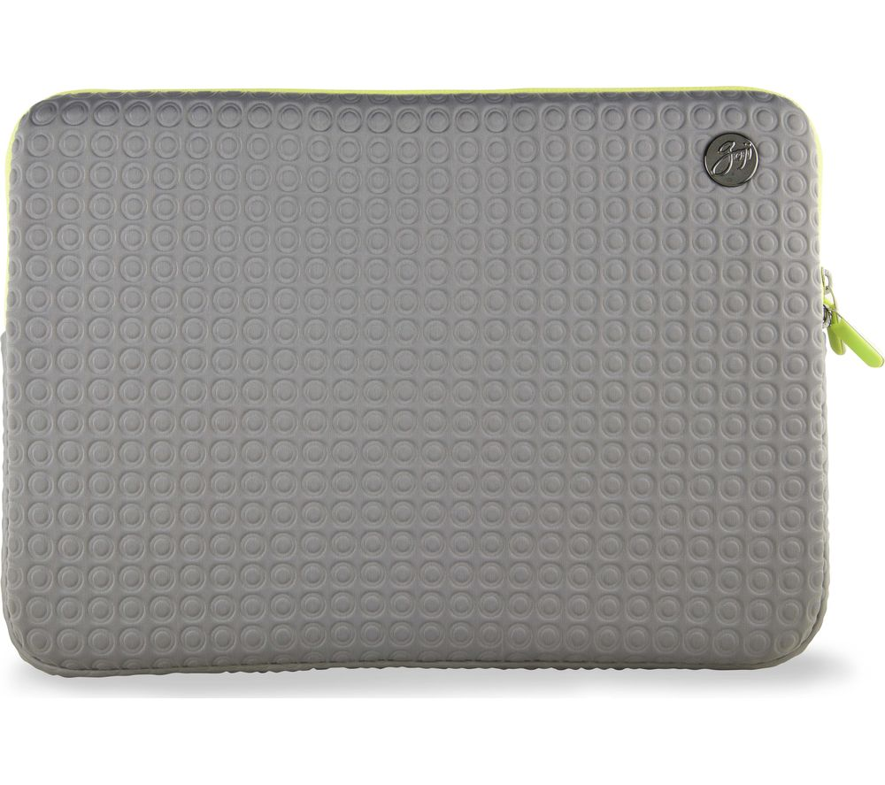 "GOJI GSMGY1516 15"" MacBook Pro Sleeve - Grey & Green"