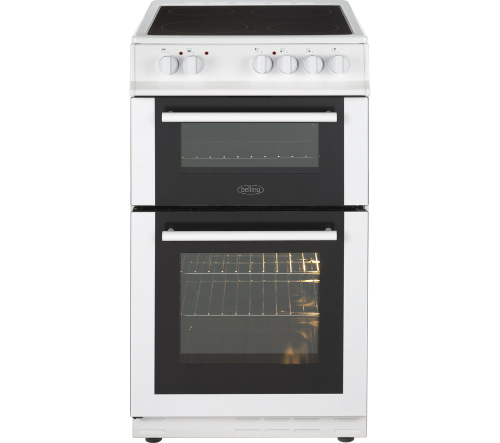 BELLING FS50EDOC 50 cm Electric Ceramic Cooker - White