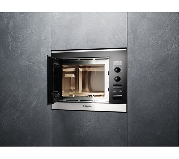 Miele M6022sc Built In Microwave With Grill Stainless Steel