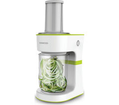 KENWOOD FGP200WG Spiralizer - White & Green