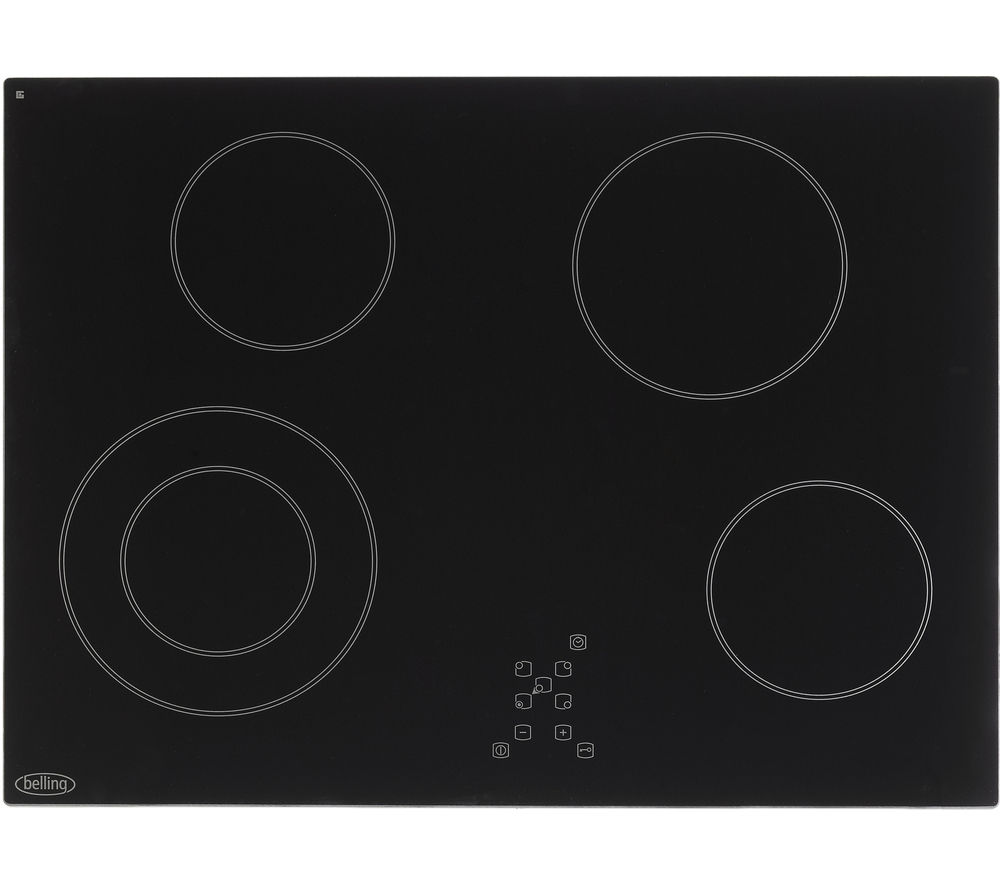 BELLING CH70TX Electric Ceramic Hob - Black