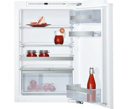 NEFF N70 KI1213F30G Integrated Fridge - White