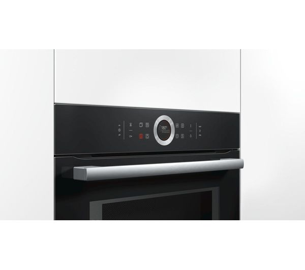 Bosch Cmg633bb1b Built In Combination Microwave Black