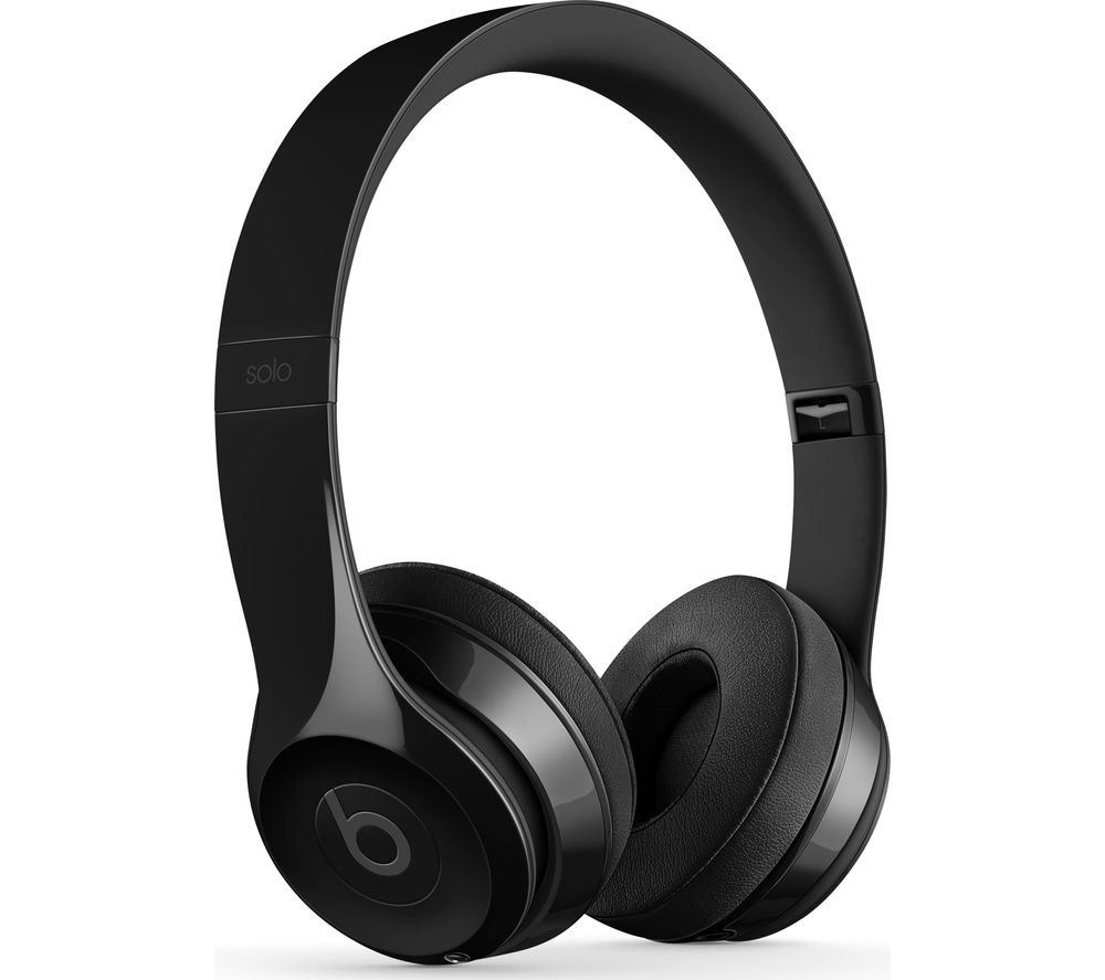 BEATS Solo 3 Wireless Bluetooth Headphones - Gloss Black