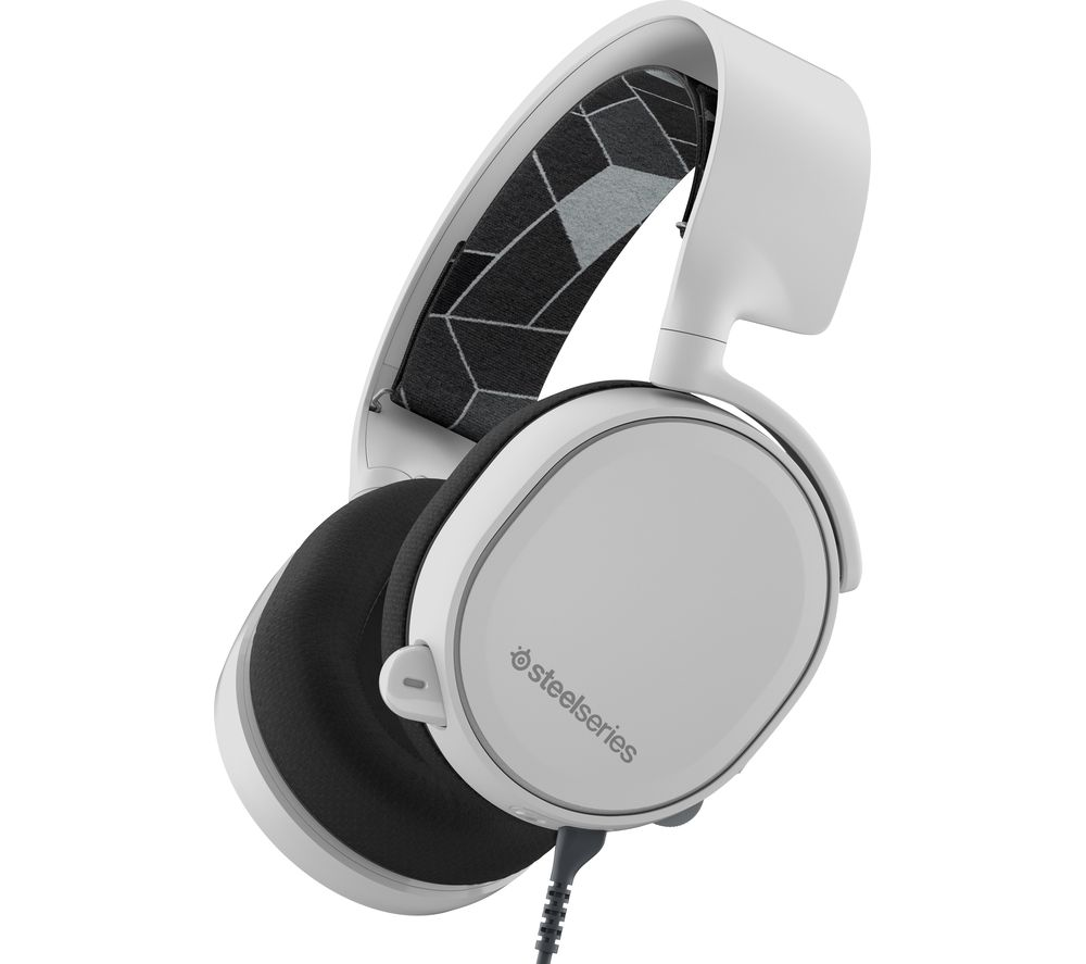 STEELSERIES Arctis 3 7.1 Gaming Headset - White
