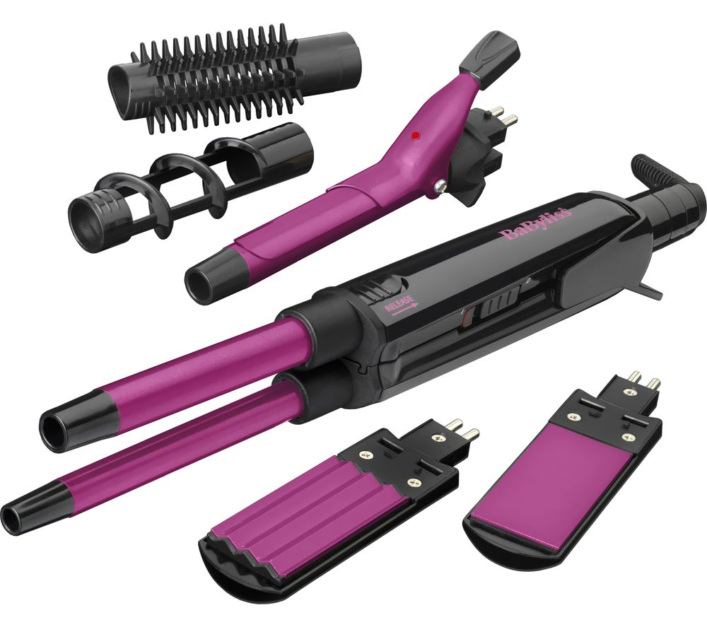 BABYLISS 2800CU Pro Ceramic 12 in 1 Styler - Pink