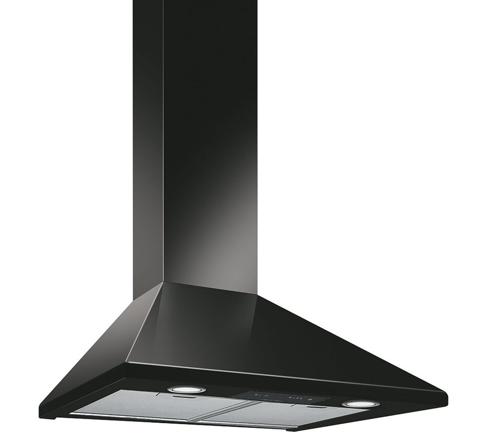 SMEG KSED65NEE Chimney Cooker Hood - Black