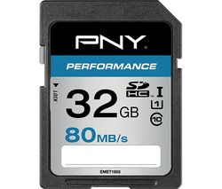 PNY Performance Class 10 SDHC Memory Card - 32 GB