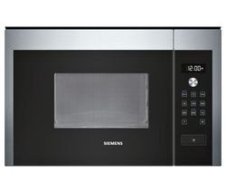 SIEMENS HF15M564B Built-in Solo Microwave - Stainless Steel