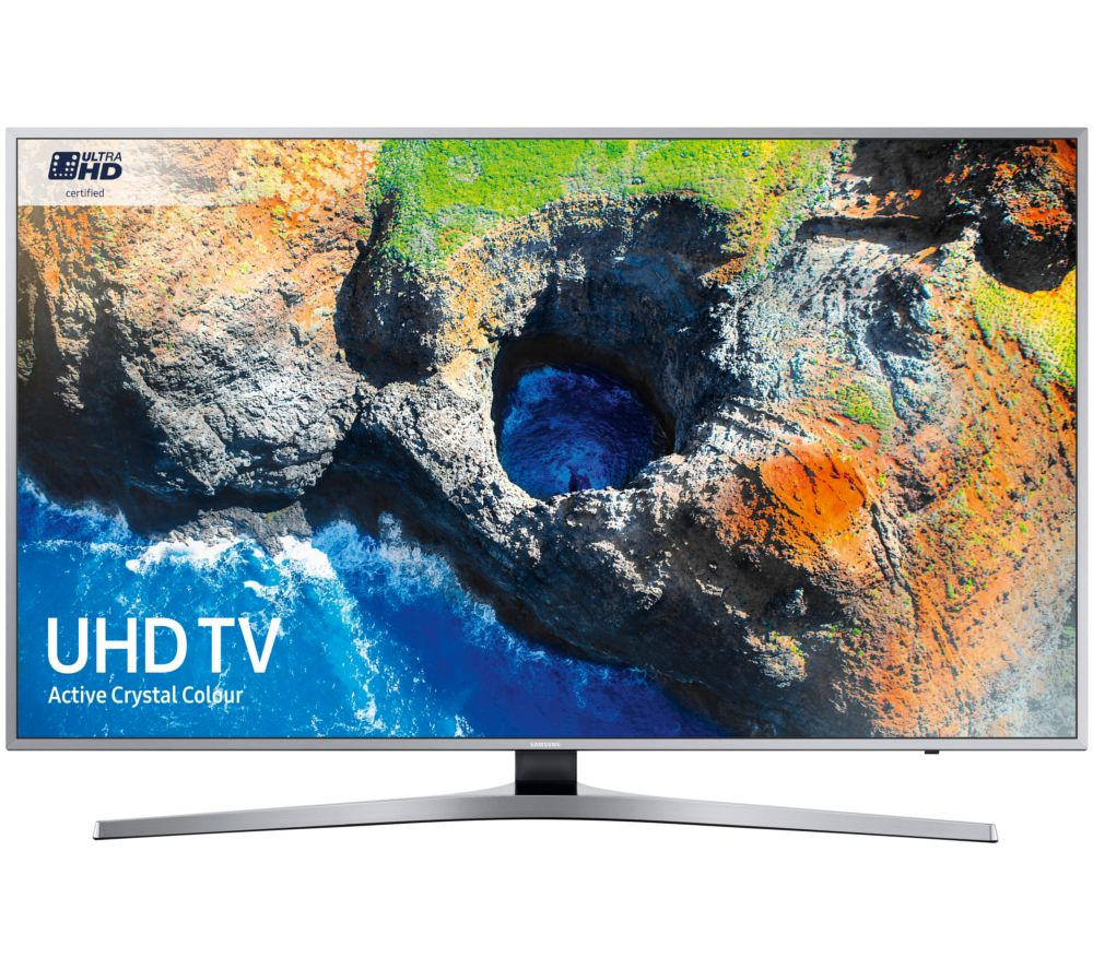 "SAMSUNG UE40MU6400U 40"" Smart 4K Ultra HD HDR LED TV + S1HDM315 HDMI Cable with Ethernet - 1 m"