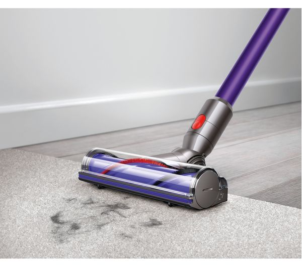 buy dyson v7 animal cordless bagless vacuum cleaner purple free delivery currys. Black Bedroom Furniture Sets. Home Design Ideas
