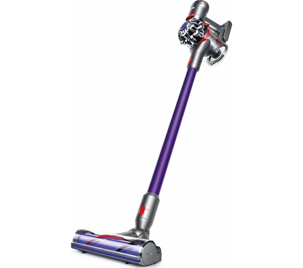 DYSON V7 Animal Cordless Bagless Vacuum Cleaner   Purple