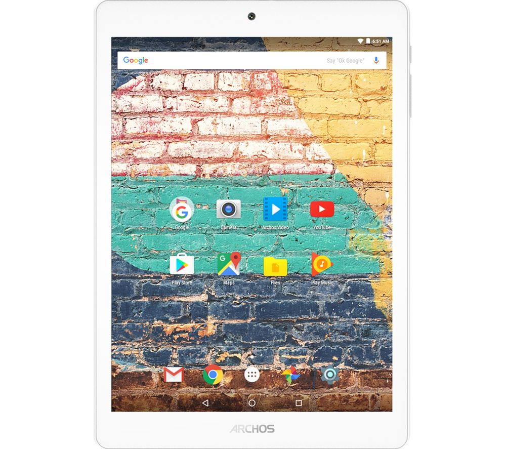 "ARCHOS 79b Neon 7.9"" Tablet - 16 GB, White + LiveSafe Premium - 1 user / unlimited devices for 1 year"