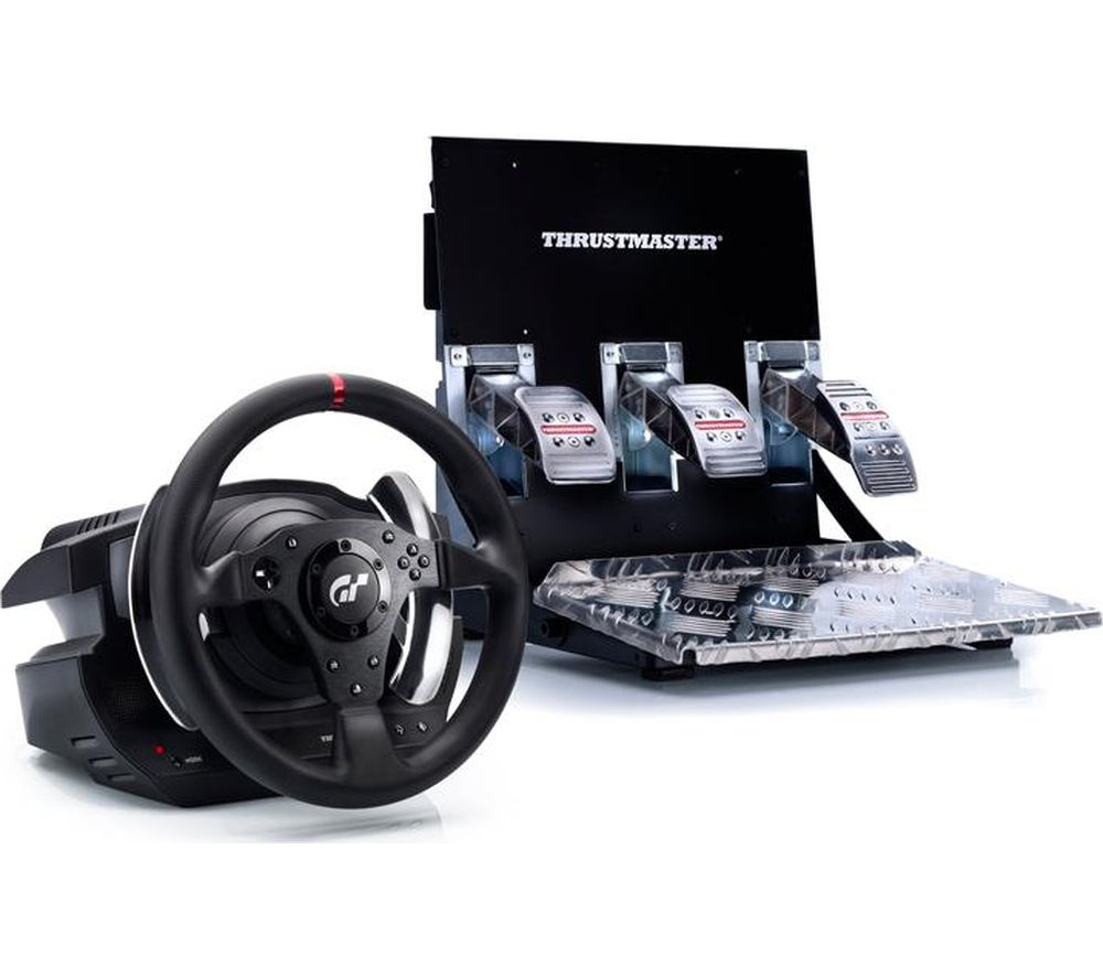 THRUSTMASTER T500 RS GT Racing Wheel & Pedals - Black