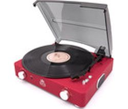 GPO Stylo II Turntable - Red