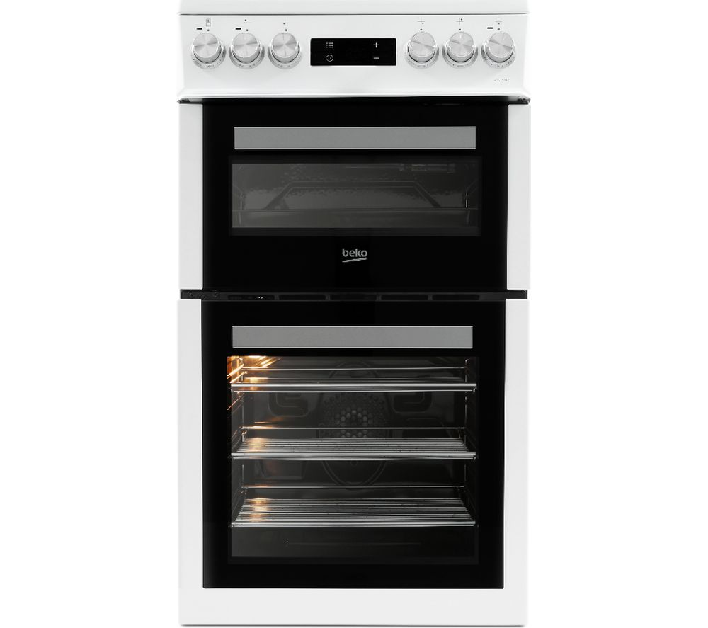 Compare retail prices of Beko XDVC5XNTW 50cm Electric Cooker to get the best deal online