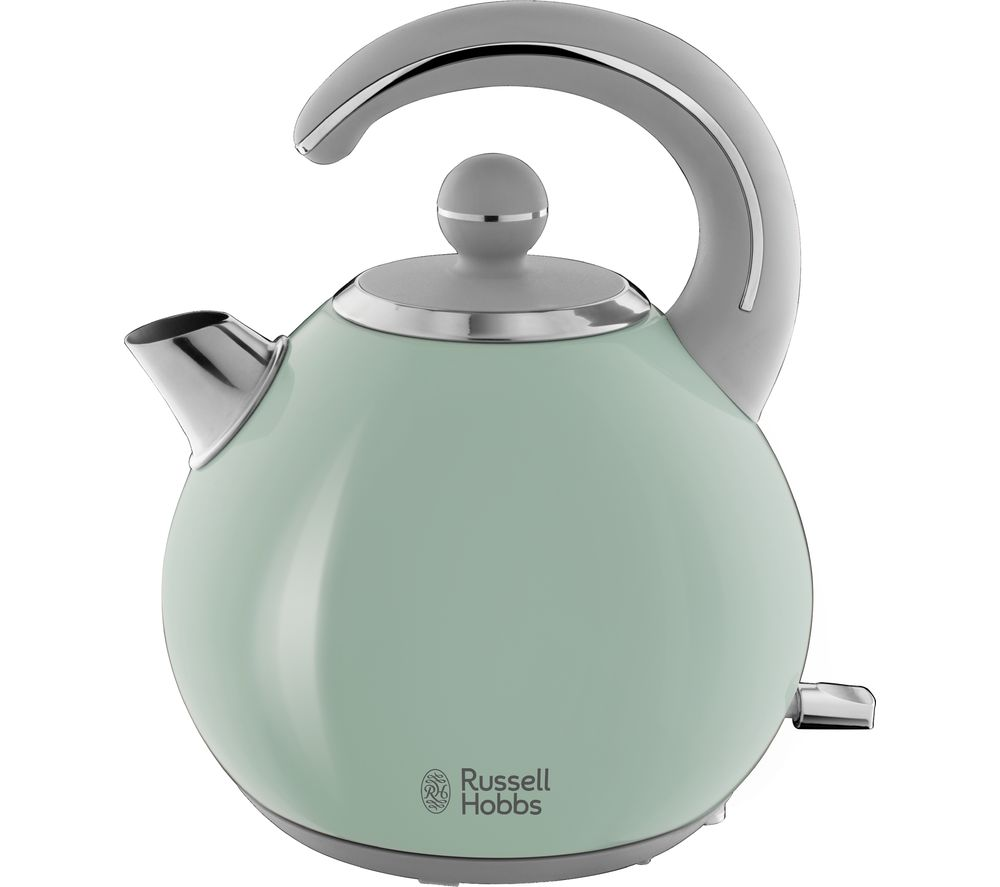 RUSSELL HOBBS Bubble 24404 Kettle - Green + Bubble 24414 4-Slice Toaster - Green