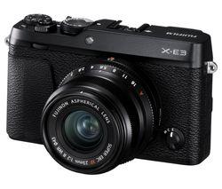FUJIFILM X-E3 Mirrorless Camera with XF 23 mm f/2 Lens - Black