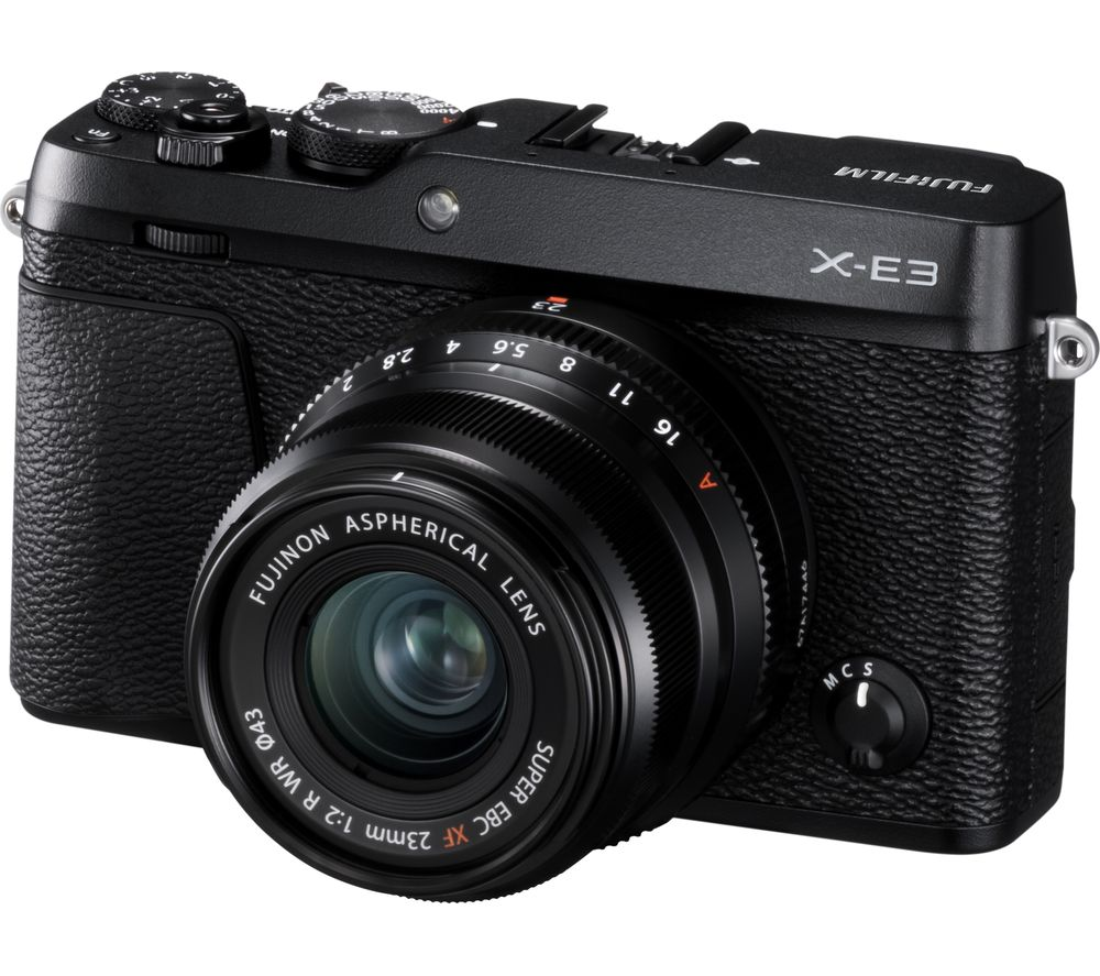 FUJIFILM X-E3 Mirrorless Camera with XF 23 mm f/2 R WR Lens