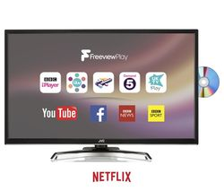 """JVC LT-32C785 32"""" Smart LED TV with Built in DVD Player"""