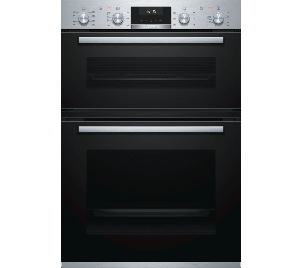 BOSCH Serie 6 MBA5350S0B Electric Double Oven - Stainless Steel