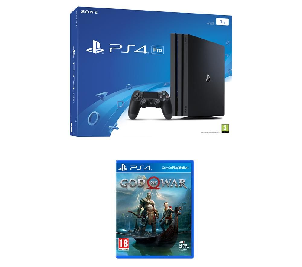 PlayStation 4 Pro & God of War Bundle