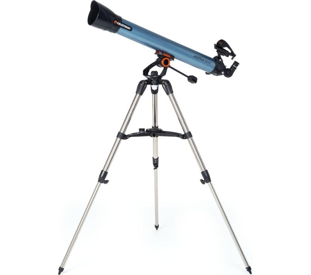 Celestron INSPIRE 80 Refractor Telescope - Blue