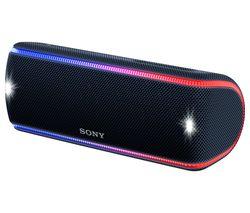 SONY SRS-XB31 Portable Bluetooth Wireless Speaker - Black