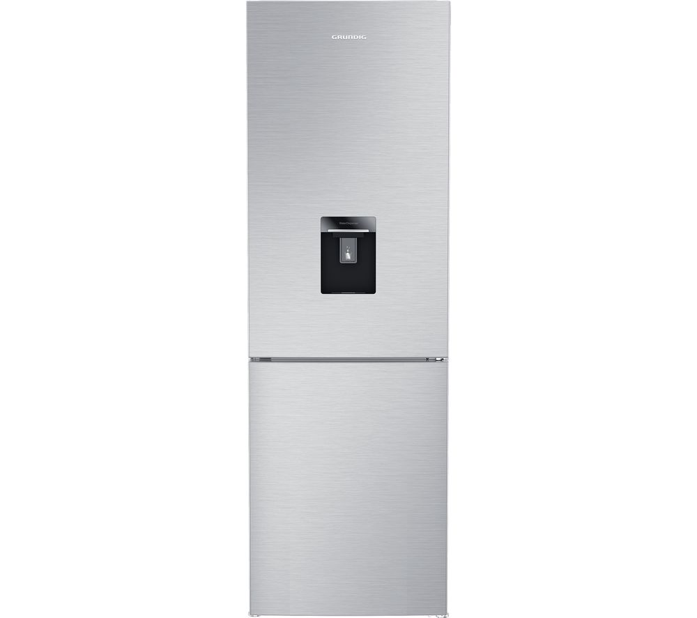 GRUNDIG GKNG1682DN 60/40 Fridge Freezer - Brushed Steel, Brushed Steel