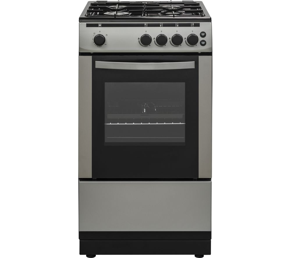 ESSENTIALS CFSGSV18 50 cm Gas Cooker - Inox