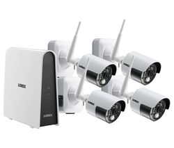 LHB8061TC4WP 6-Channel Full HD 1080p Security System - 1 TB, 4 Wireless Cameras