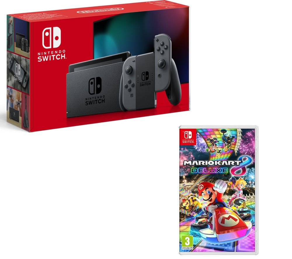 NINTENDO Switch & Mario Kart 8 Deluxe Bundle