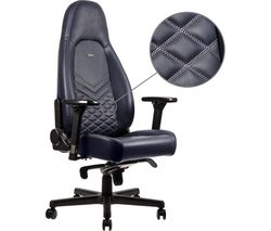 ICON Leather Gaming Chair - Blue