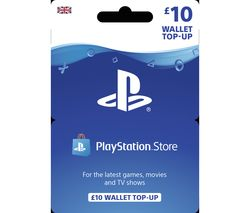 PLAYSTATION Network Wallet Top Up - £10