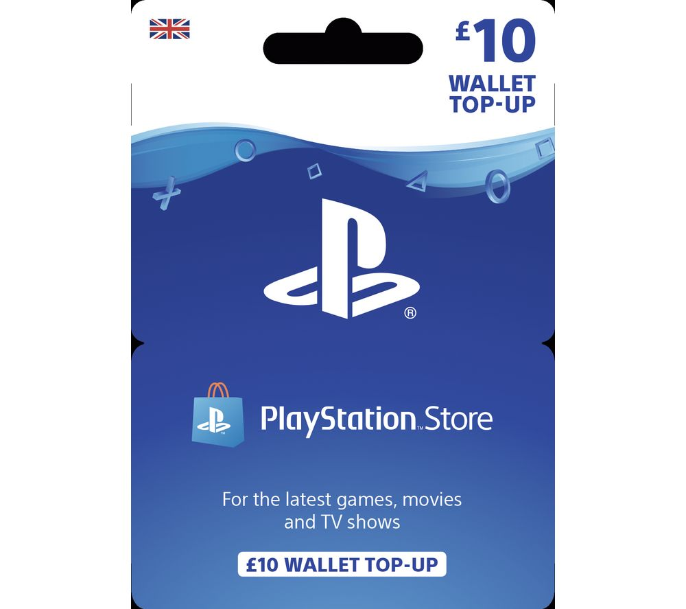 PLAYSTATION Store Wallet Top Up - £10