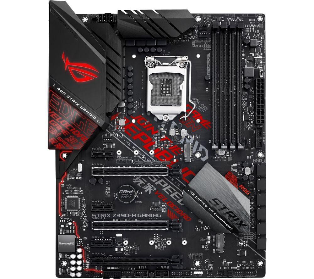 ASUS ROG STRIX Z390-H GAMING LGA1151 Motherboard