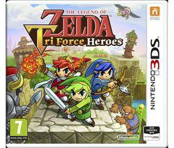 NINTENDO 3DS The Legend of Zelda: Tri Force Heroes