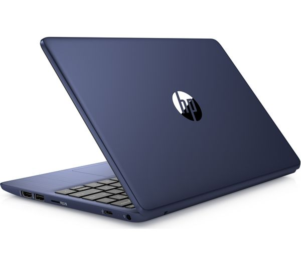 Buy Hp Stream 11 Ak0501 11 6 Laptop Intel Celeron 32 Gb Emmc Blue Free Delivery Currys