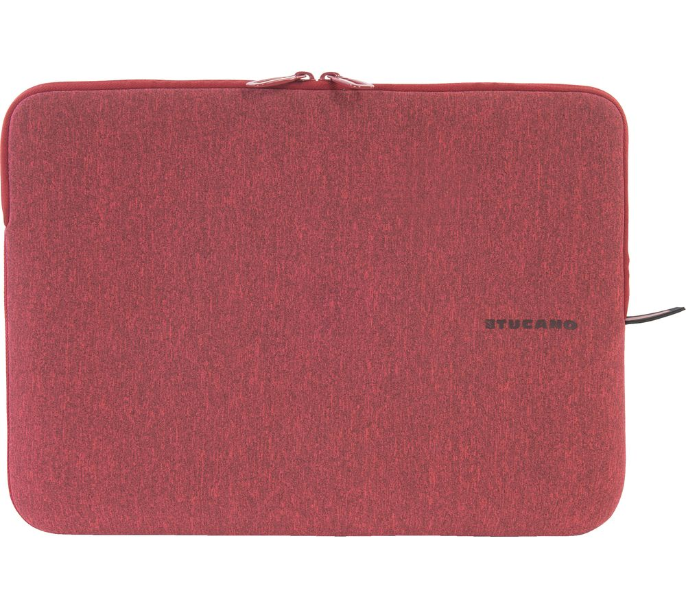 """Image of TUCANO M?lange Second Skin 14"""" Laptop Sleeve - Red, Red"""