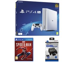 SONY PlayStation 4 Pro, Marvel's Spider-Man & Twin Docking Station Bundle