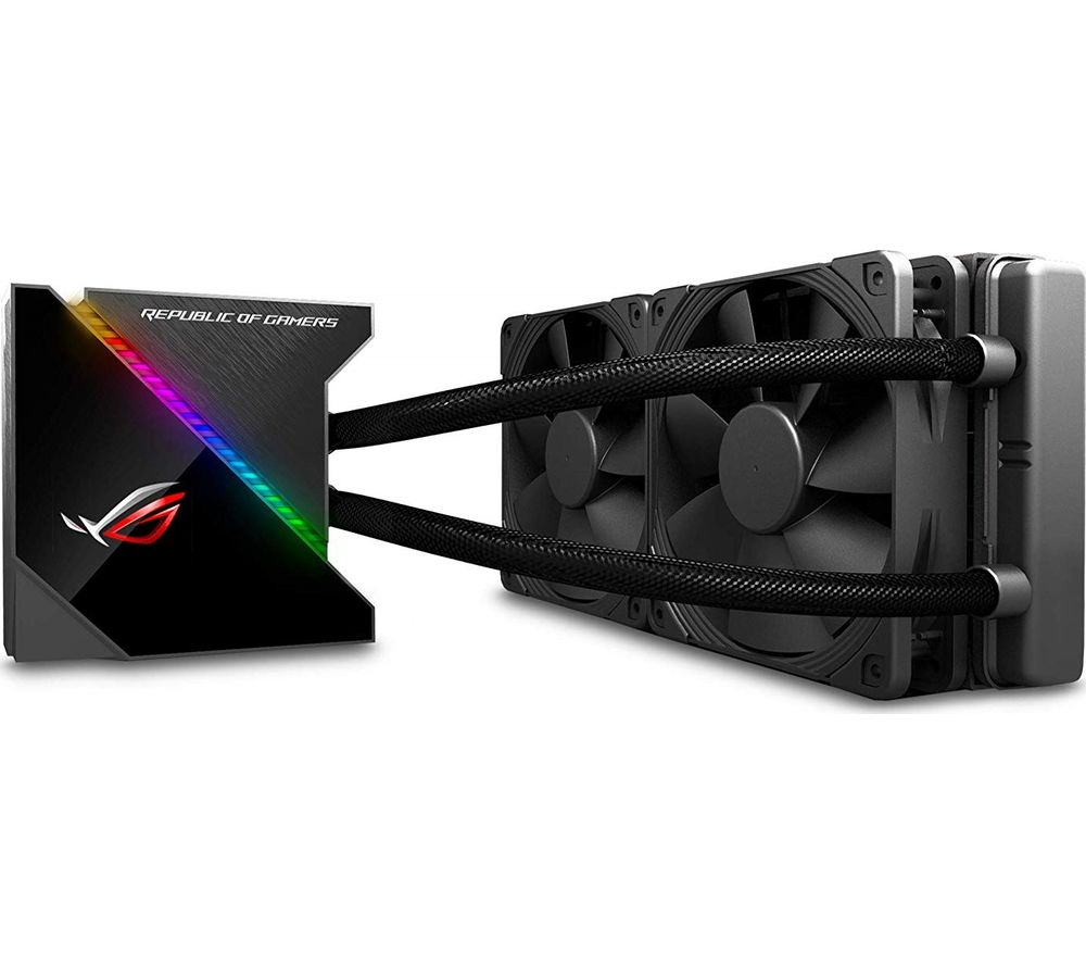 ASUS ROG RYUJIN 240 mm All-in-One CPU Liquid Cooler - RGB LED