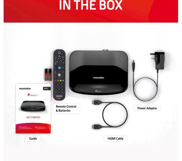 MANHATTAN T3-R Freeview Play Smart 4K Ultra HD Digital TV Recorder - 500 GB