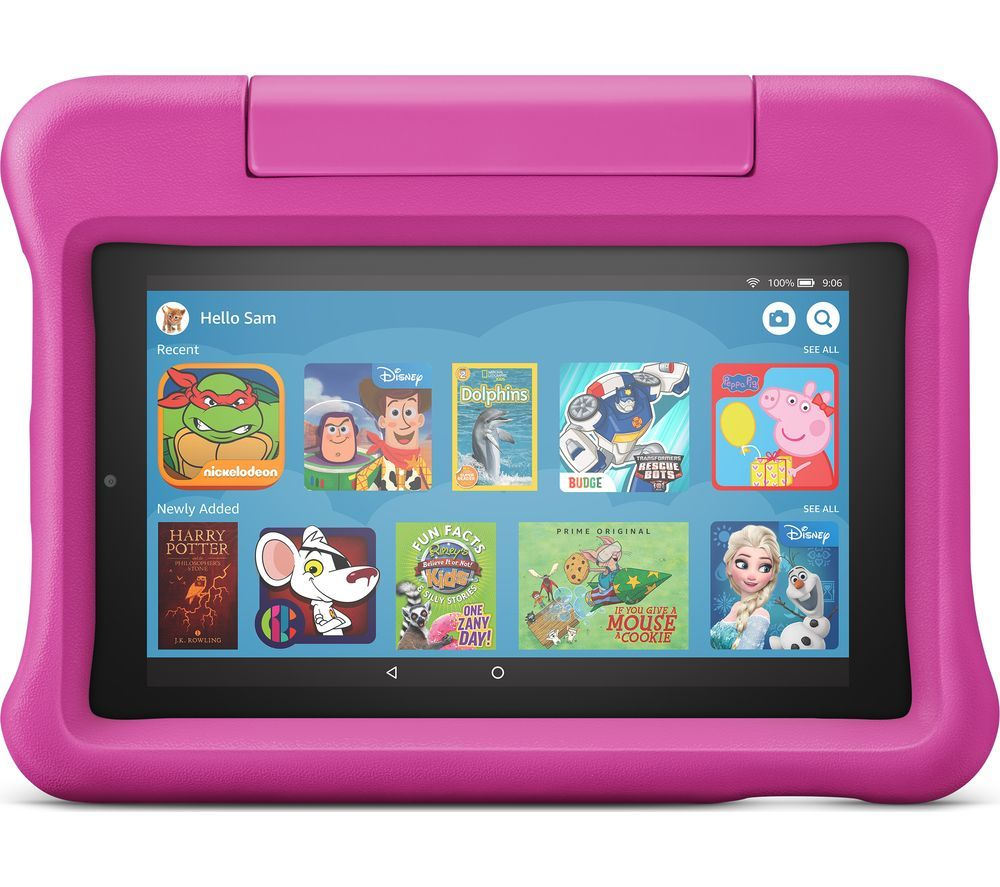 "AMAZON Fire 7 Kids Edition 7"" Tablet (2019) - 16 GB, Pink"