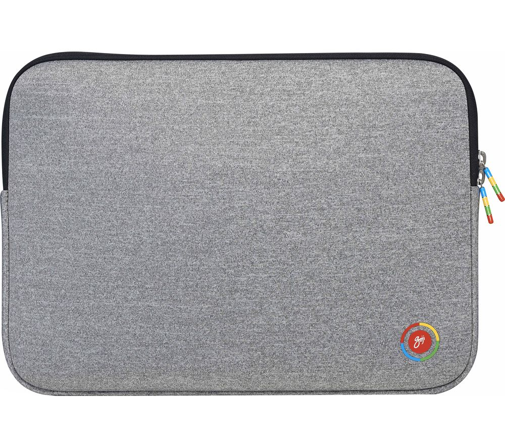 "Image of G14CROM19 14"" Laptop Sleeve - Grey, Grey"