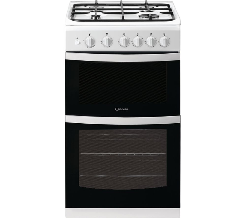 Image of ID5G00KCW 50 cm Gas Cooker - White, White