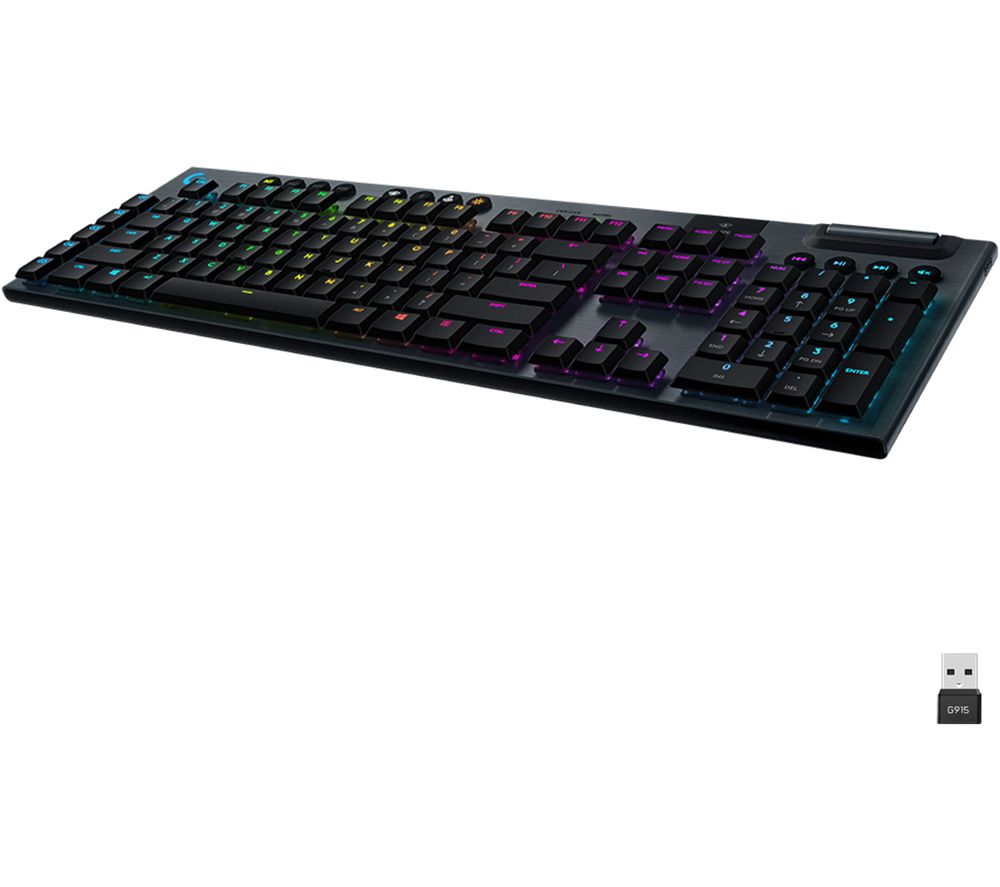 Image of G915 LIGHTSPEED RGB Wireless Mechanical Gaming Keyboard