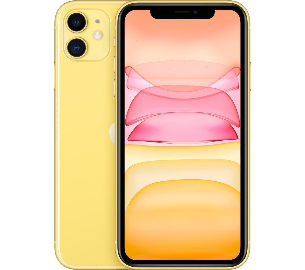 APPLE iPhone 11 - 128 GB, Yellow