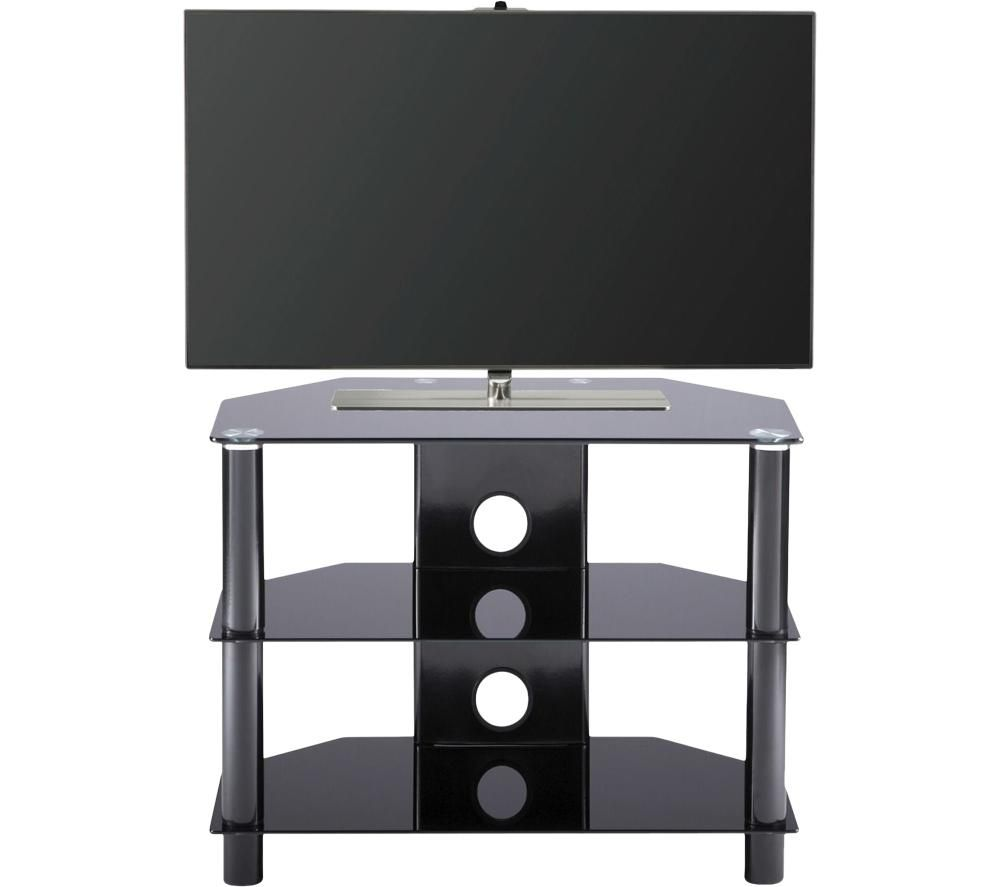 ALPHASON Essentials 600 ESS600/3-BLK TV Stand - Black, Black