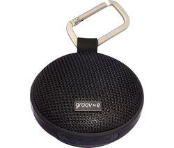 GROOV-E Wave I GVSP362BK Portable Bluetooth Speaker - Black